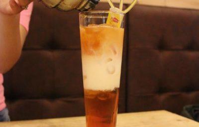 Cách pha chế trà lipton 3 tầng