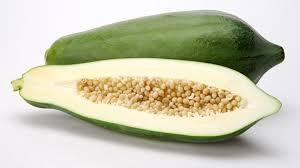Đu đủ xanh – Hoa quả không nên ăn khi mang bầu