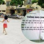 Hà Nội: Cháu bé 5 tuổi khóc lóc,hoảng sợ kể chuyện bị bắt cóc hụt