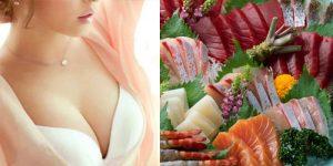 Cải thiện số đo vòng 1 bằng cách ăn hải sản và các thực phẩm giàu Protein