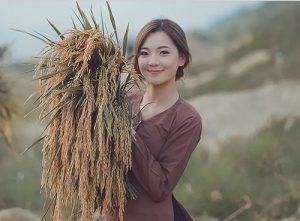 Bộ ảnh này là ước mơ của Hương về tình yêu quê hương